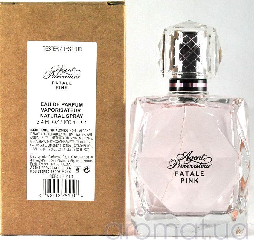 43665e2ec3058 Agent Provocateur Fatale Pink Тестер - Парфюмированная вода тестер с ...