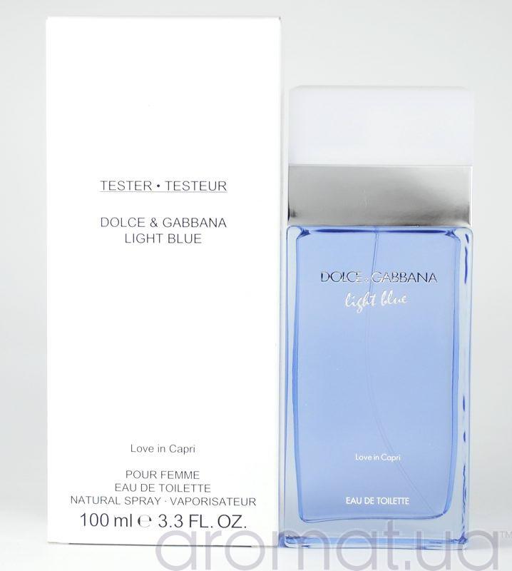 Dolce Amp Gabbana Light Blue Love In Capri Тестер