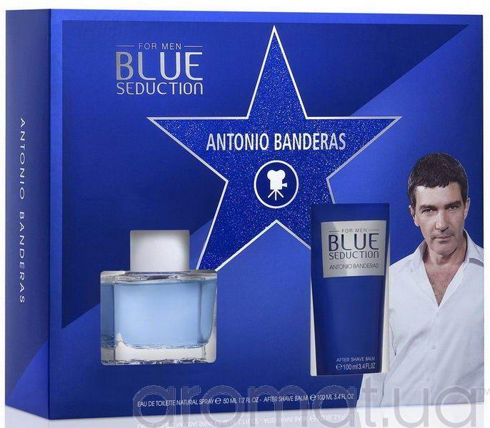 Antonio Banderas Blue Seduction For Men Набор edt 50ml+ash/bal 75ml