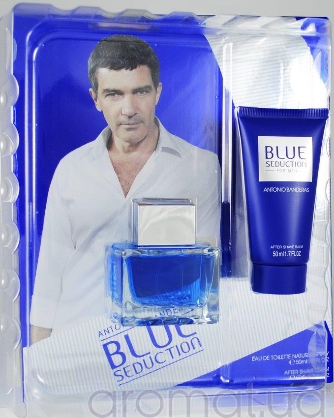 Antonio Banderas Blue Seduction For Men Набор edt 50ml+ash/bal 50ml