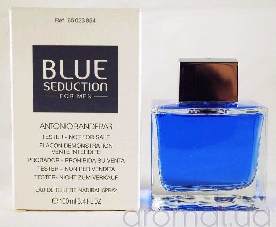 Antonio Banderas Blue Seduction For Men Тестер