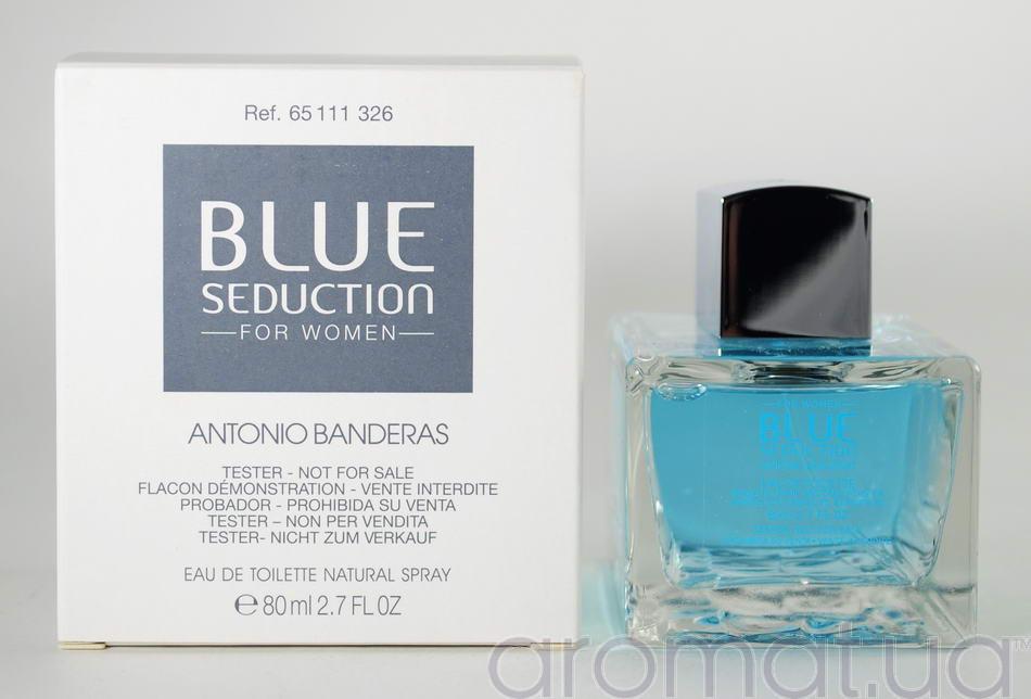 Antonio Banderas Blue Seduction For Women Тестер