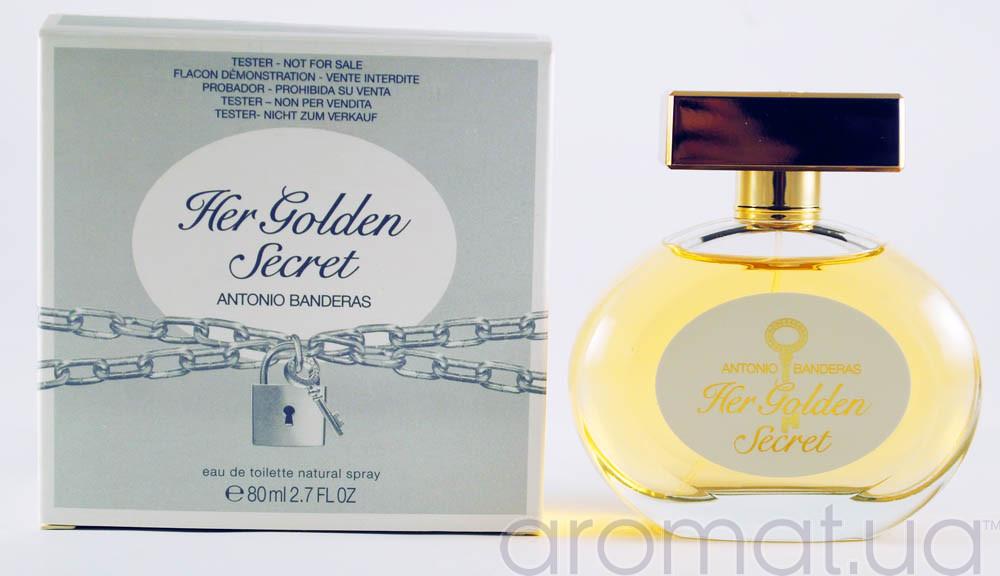Antonio Banderas Her Golden Secret Тестер