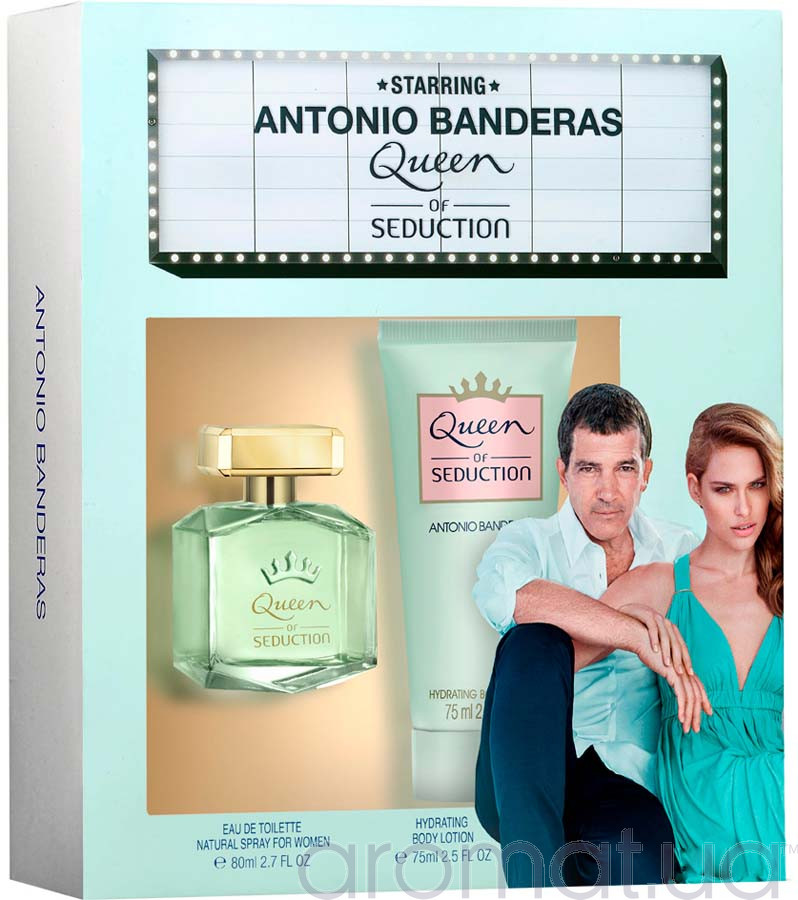 Antonio Banderas Queen of Seduction Набор edt 80ml+b/loton 75ml