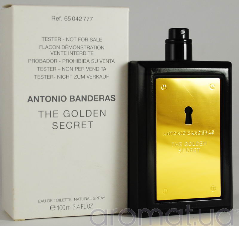 Antonio Banderas The Golden Secret Тестер