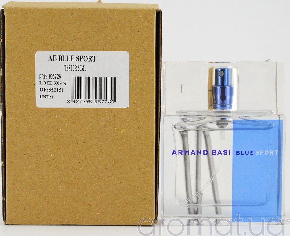 Armand Basi Blue Sport Тестер