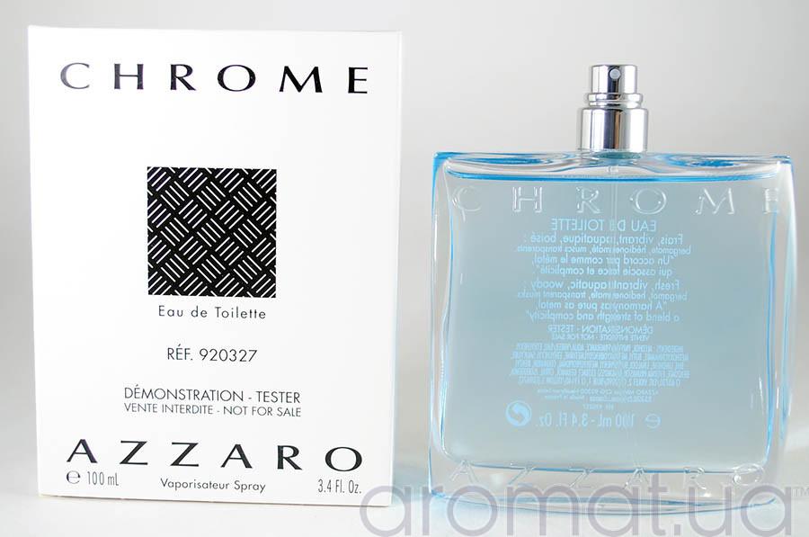 Azzaro Chrome Тестер