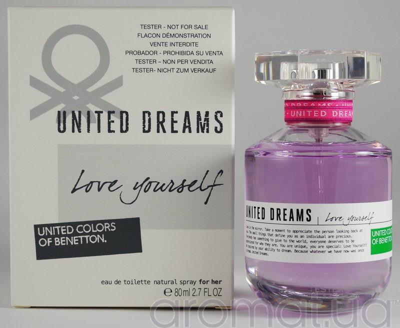 Benetton United Dreams Love Yourself Тестер