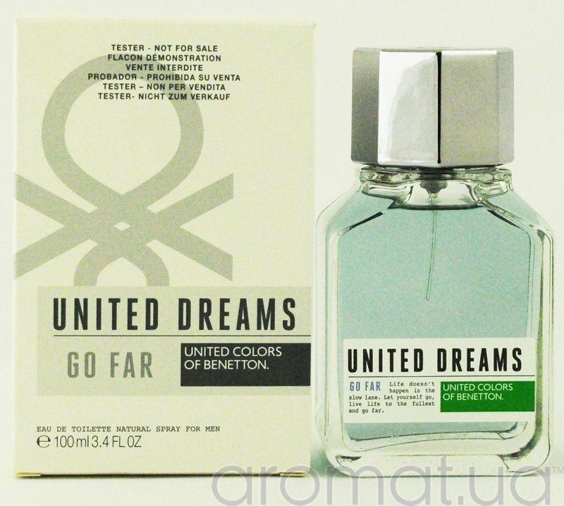 Benetton United Dreams Men Go Far Тестер