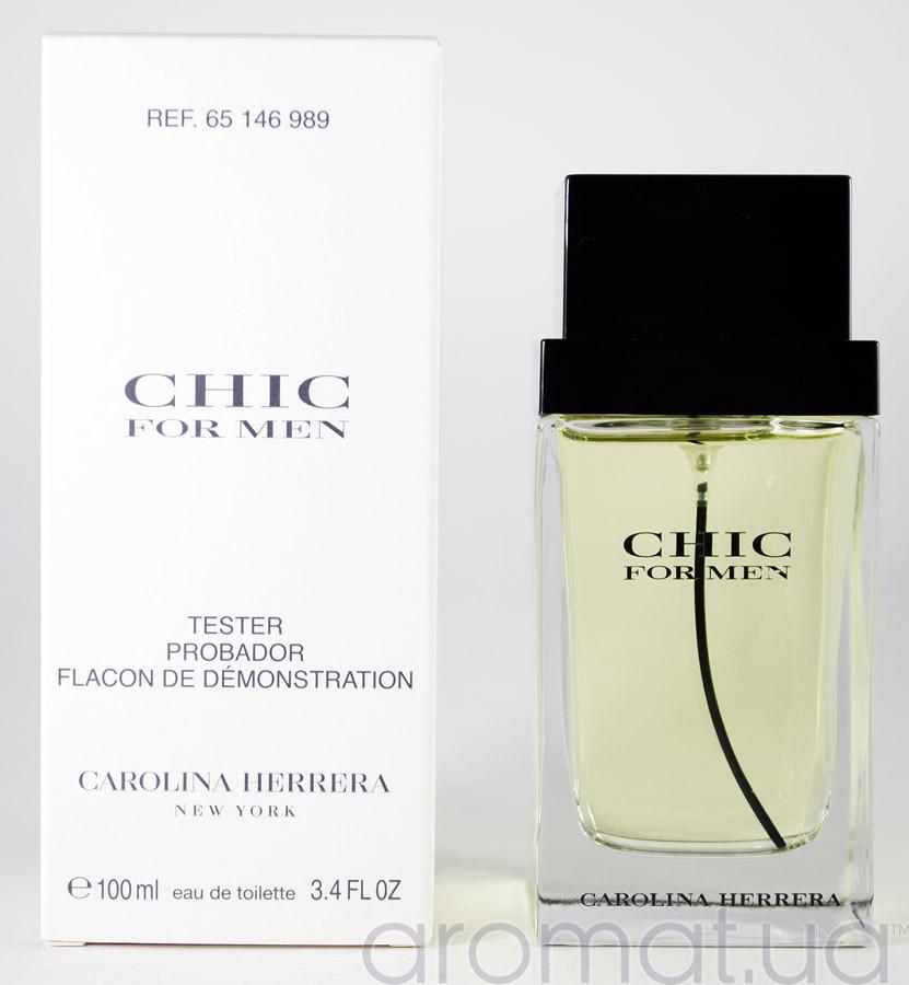 Carolina Herrera Chic for Men Тестер