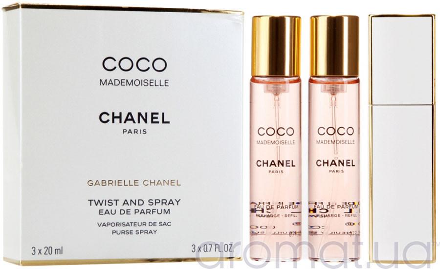 Chanel Coco Mademoiselle Eau de Parfum 3*20 ml edp