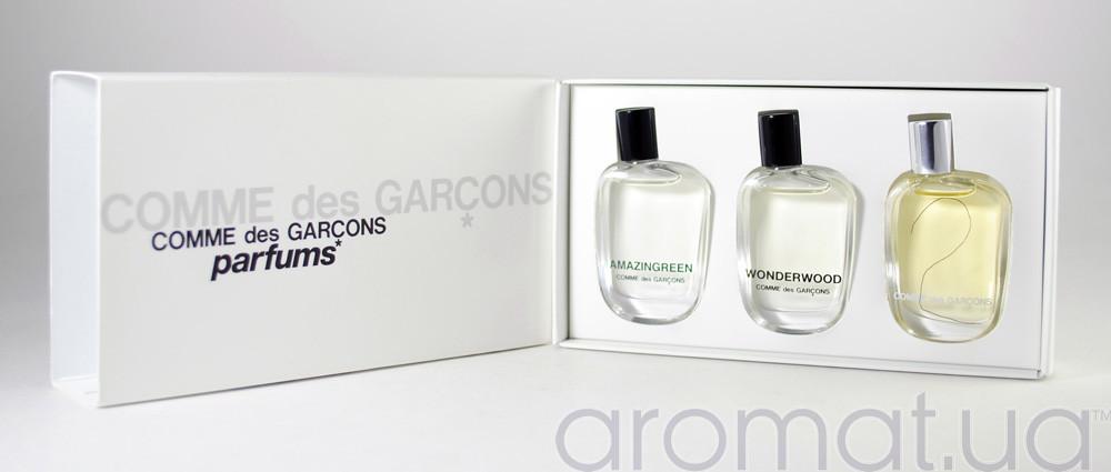 Comme des Garcons Набор Amazingreen 9ml+Wonderwood 9ml+Comme des Garcons 2 -9ml