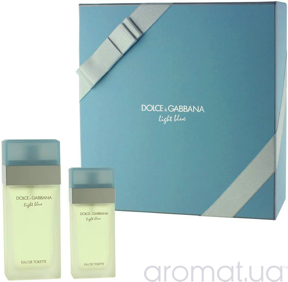 Dolce & Gabbana Light Blue Набор edt 100ml+edt 25ml