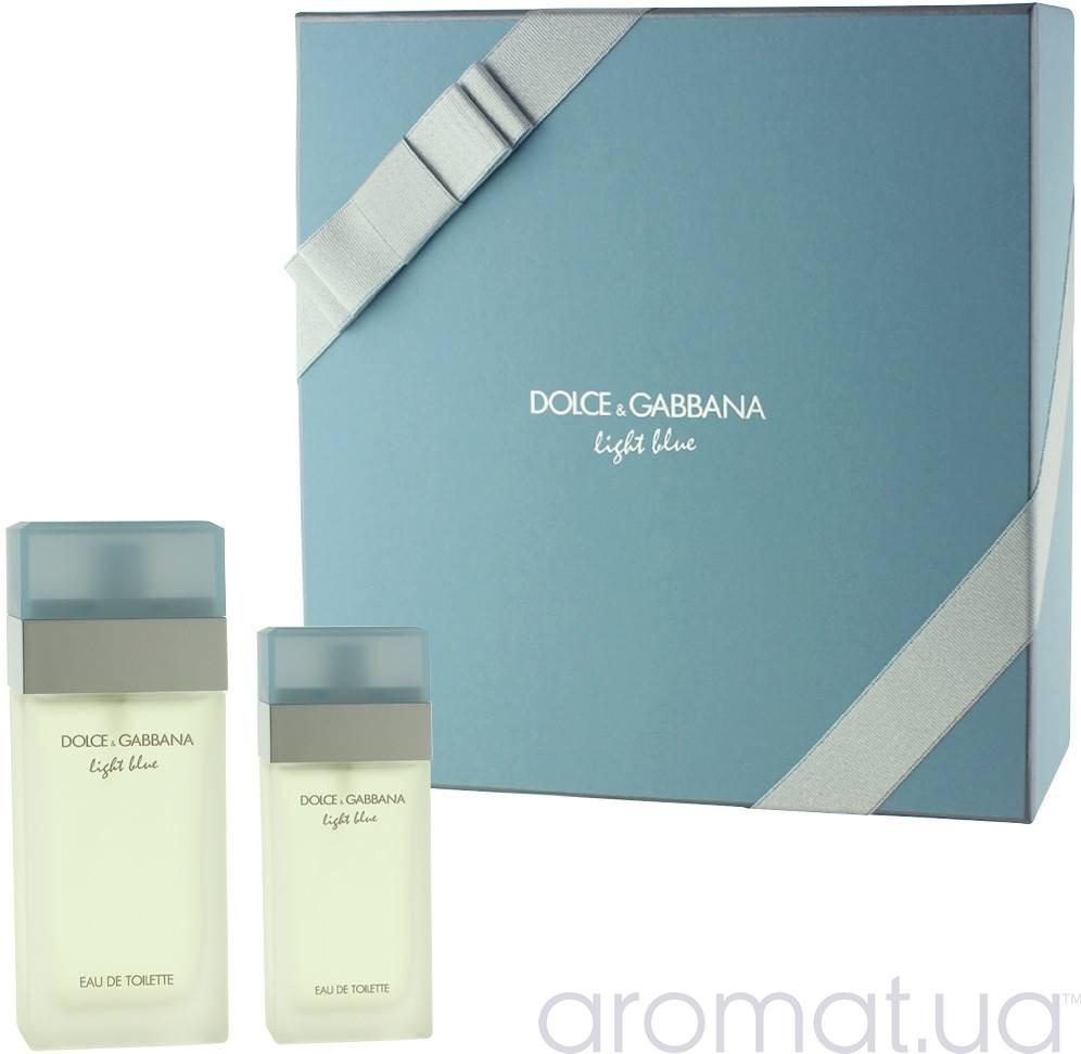 Dolce & Gabbana Light Blue Набор edt 25ml+ edt 10ml