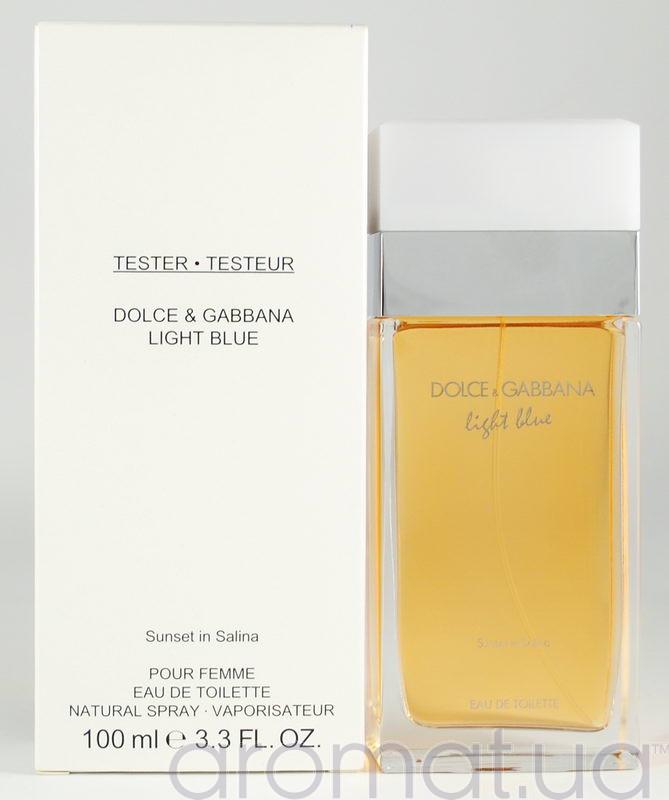 Dolce & Gabbana Light Blue Sunset in Salina Тестер