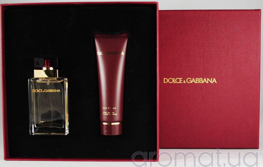 Dolce & Gabbana Pour Femme Набор edp 25ml+b/lotion 50ml
