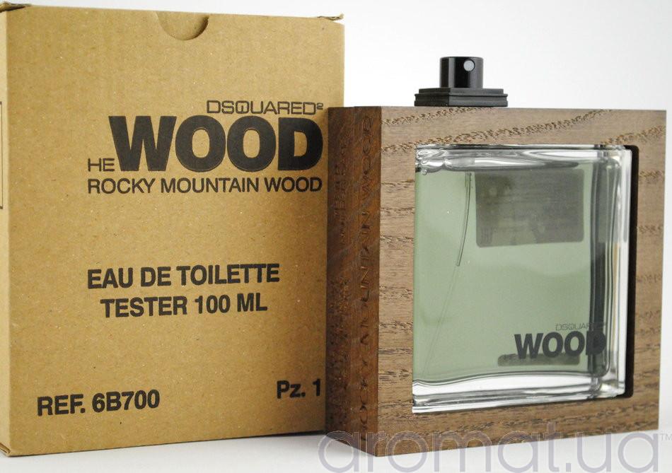 Dsquared2 He Wood Rocky Mountain Wood Тестер