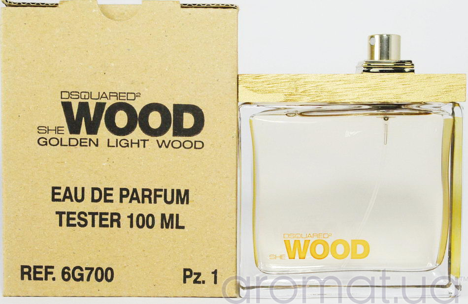 Dsquared2 She Wood Golden Light Wood Тестер