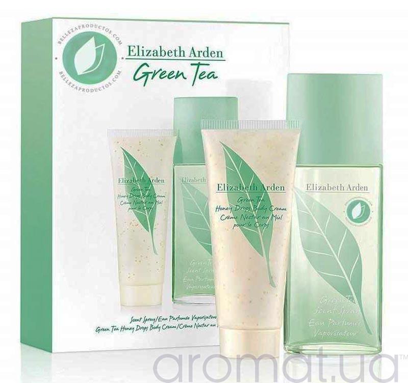 Elizabeth Arden Green Tea Набор edp 100ml+body cream 100ml