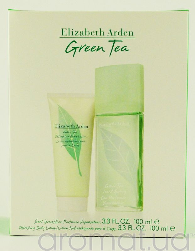 Elizabeth Arden Green Tea Набор edp 100ml+b/lotion 100ml