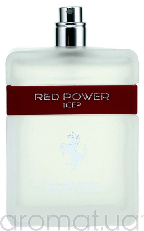 Ferrari Red Power Ice 3 Тестер