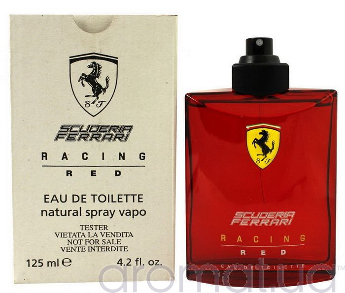Ferrari Scuderia Racing Red Тестер