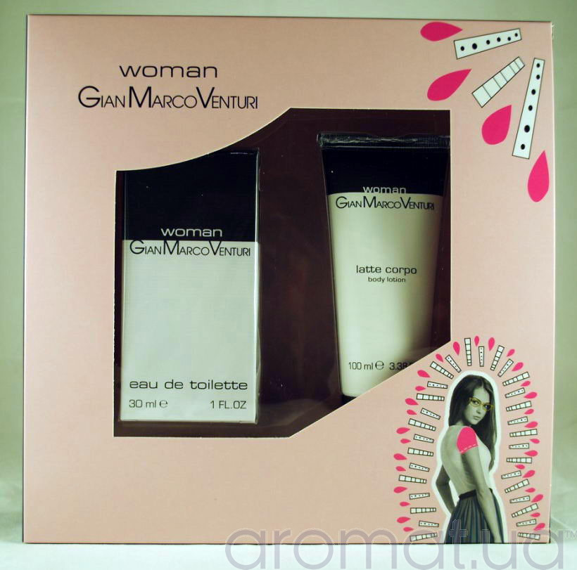 Gian Marco Venturi Woman Набор edt 30ml+b/loton 100 ml
