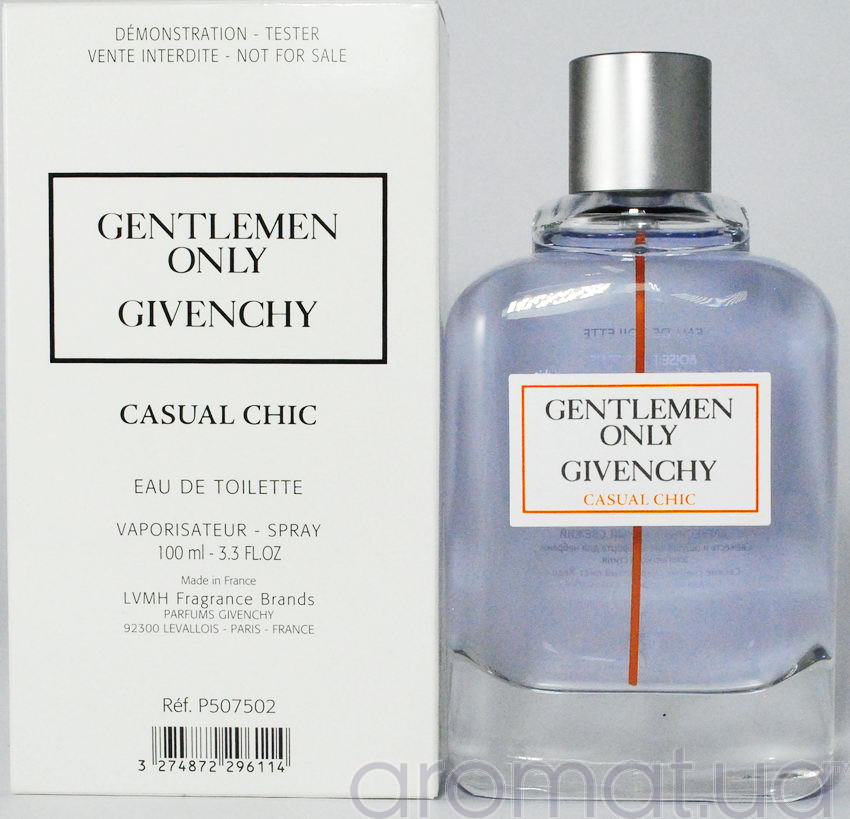 Givenchy Gentlemen Only Casual Chic Тестер