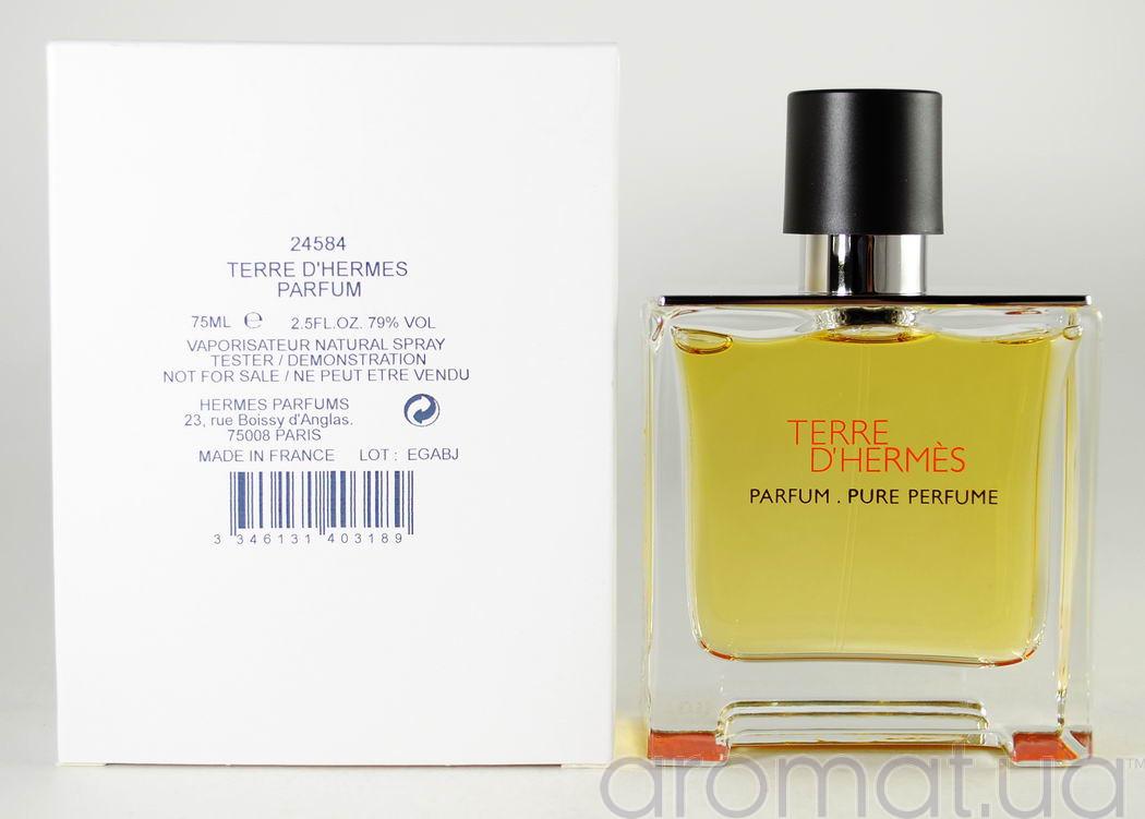 Hermes Terre d'Hermes Parfum Тестер