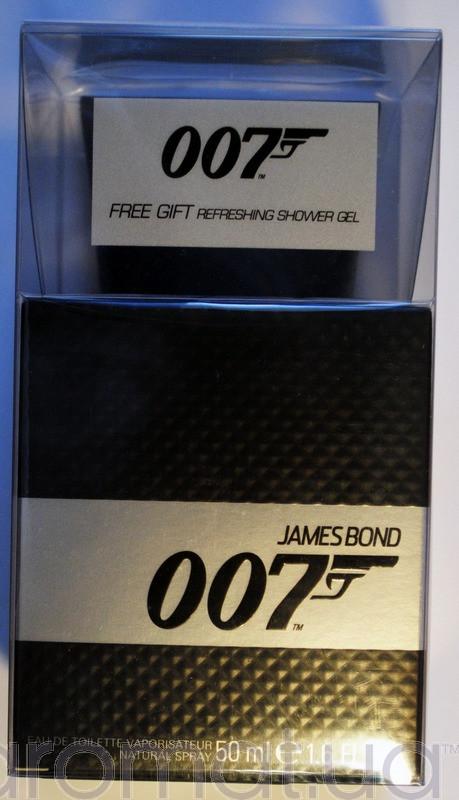 James Bond 007 Men Набор edt 50ml+sh/gel 150ml