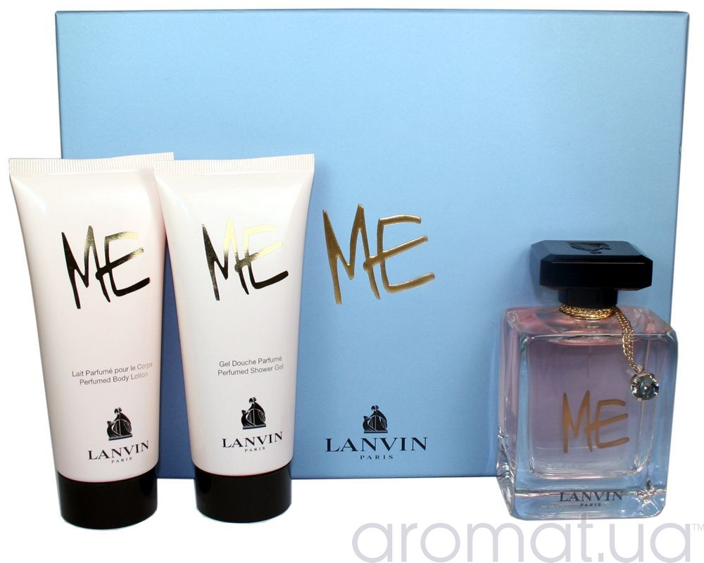 Lanvin Me Набор edp 80ml+b/lotion 100ml+sh/gel 100ml