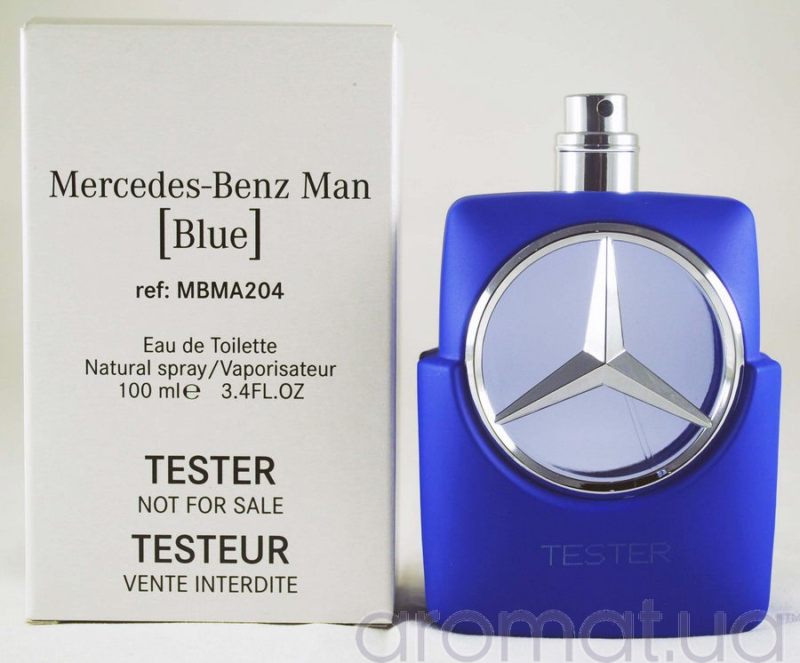 Mercedes-Benz Man Blue Тестер