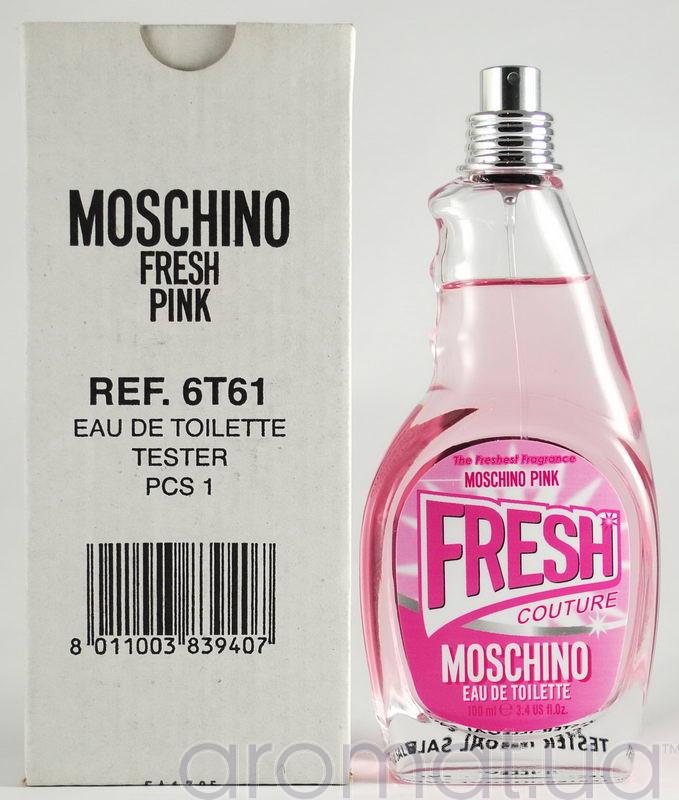 Moschino Pink Fresh Couture Тестер без крышечки