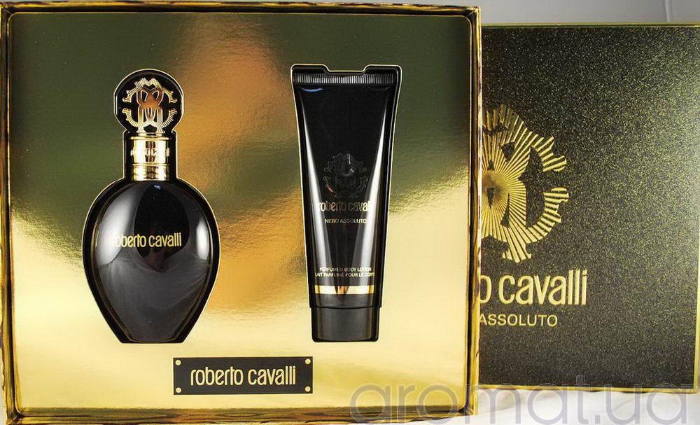 Roberto Cavalli Nero Assoluto Набор edp 50ml+b/lotion 75ml
