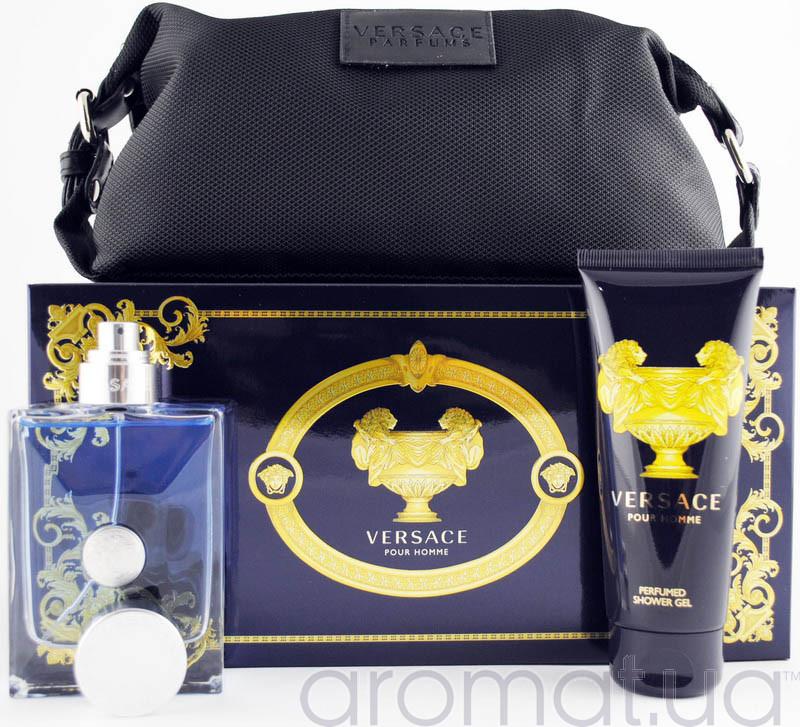 Versace Pour Homme Набор edt 100ml+sh/gel 100ml+Сумка