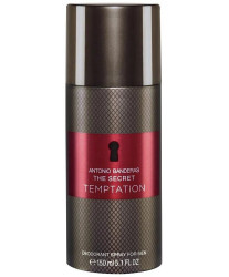 Antonio Banderas The Secret Temptation Deodorant Spray 150 ml