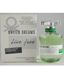 Benetton United Dreams Live Free Тестер