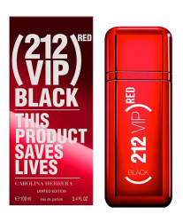 Carolina Herrera 212 VIP Men Black Red