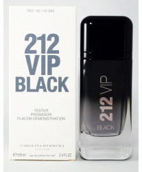 Carolina Herrera 212 Vip Men Black Тестер