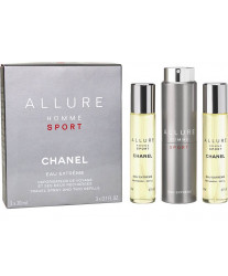 Chanel Allure Homme Sport Eau Extreme 3*20 ml Дорожный набор
