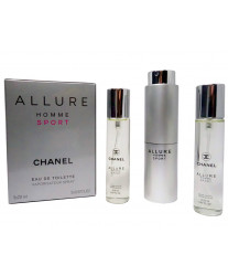 Chanel Allure Homme Sport Набор 3*20 ml edt