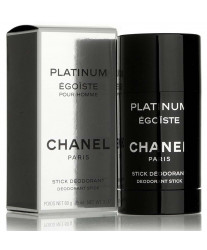 Chanel Egoiste Platinum Deodorant Stick 75 ml