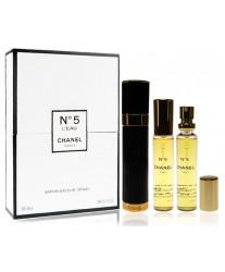 Chanel N°5 LEau Набор 3*20 ml edt