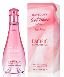 Davidoff Cool Water Woman Sea Rose Pacific Summer Edition