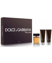 Dolce & Gabbana The One for Men Набор edt 100ml +as 50ml +shgel 50ml