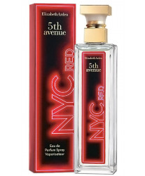 Elizabeth Arden 5th Avenue NYC Red