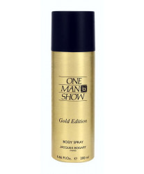 Jacques Bogart One Man Show Gold Edition Body Spray 200 ml