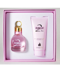 Lanvin Rumeur 2 Rose Набор edp 50ml+b/lotion 100ml