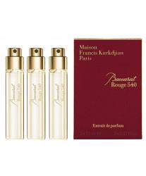 Maison Francis Kurkdjian Baccarat Rouge 540 Extrait de Parfum Набор 3*11 ml духи