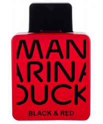 Mandarina Duck Black & Red Man Тестер